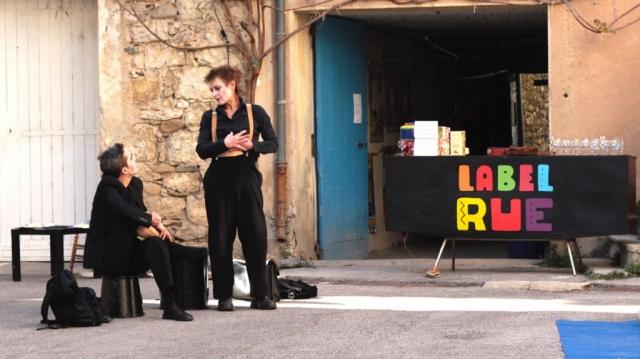 Cie saMsa - Festival Label'Rue, Laroque (34)