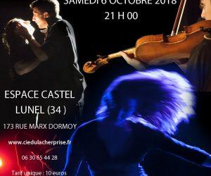 06.10.18 … Cie du Lâcher Prise ALTER EROS @Espace Castel, Lunel (34)