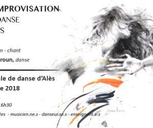 03-04.11.18 … Stage d'improvisation danse et musique